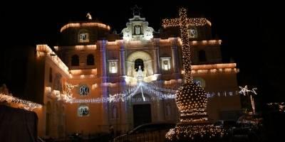 Iluminación Iglesia La Merced, Antigua Guatemala