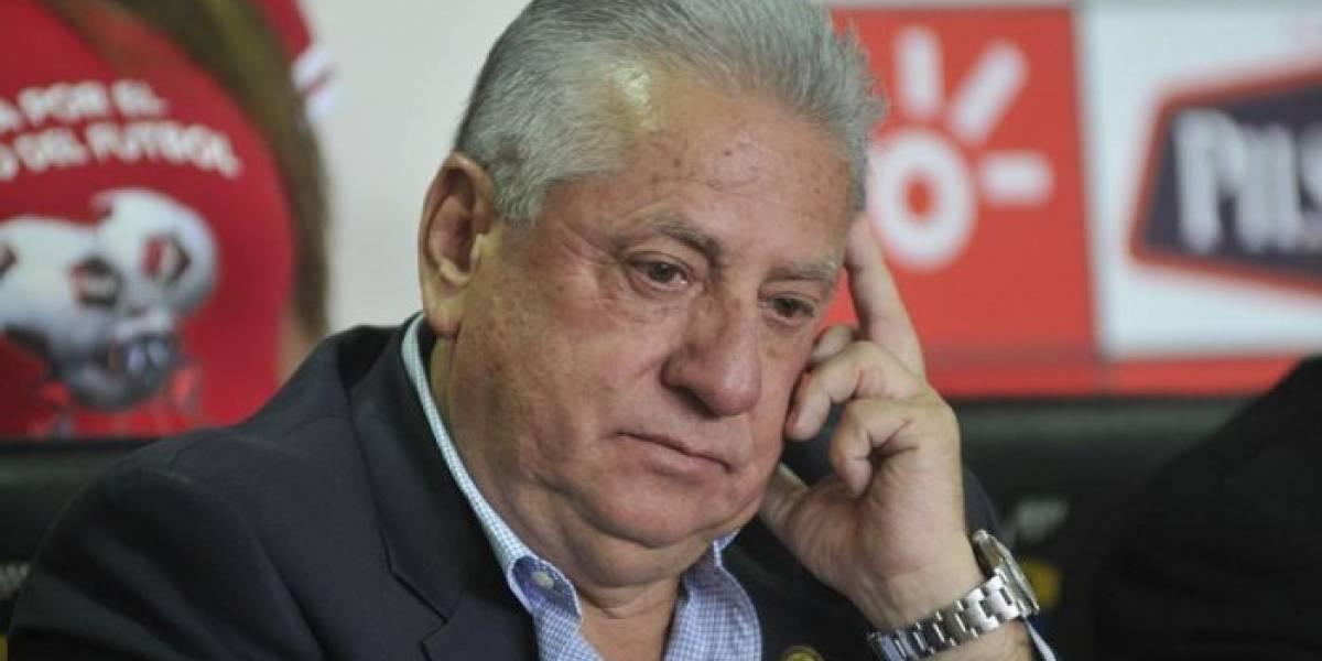 FIFA suspende de por vida a Luis Chiriboga por casos de corrupción en el fútbol