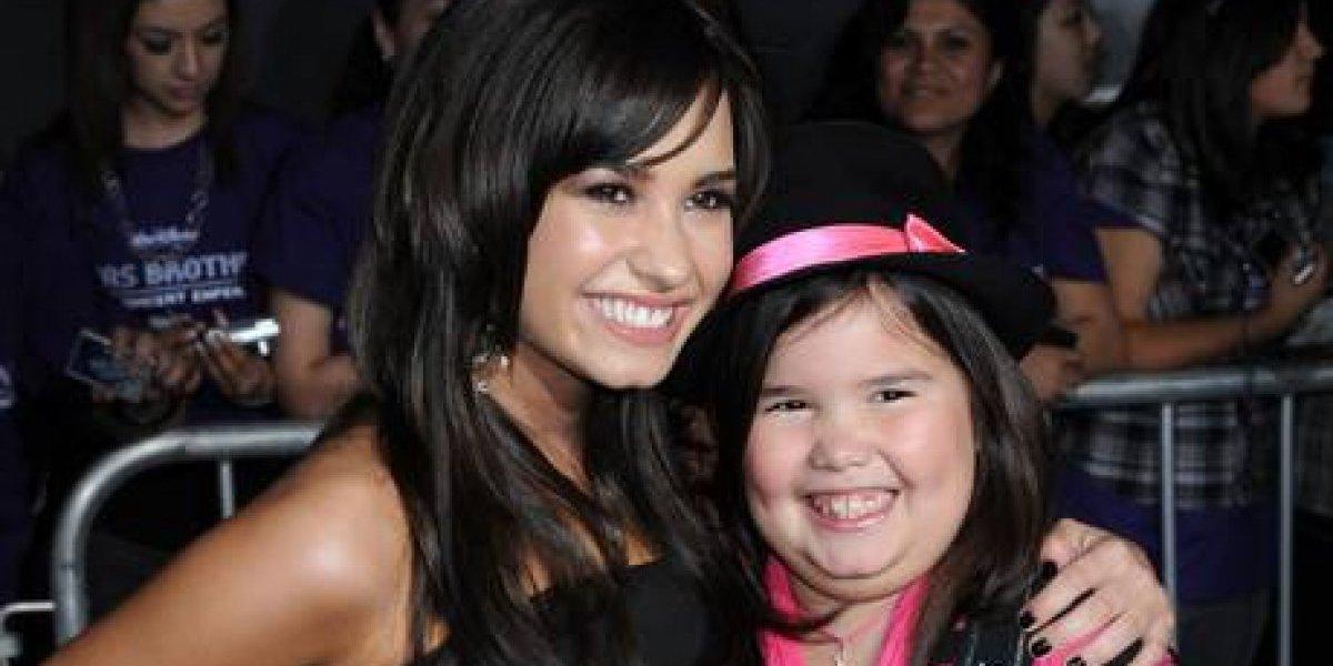 Hermana de Demi Lovato celebró sus 16 años y así ha cambiado