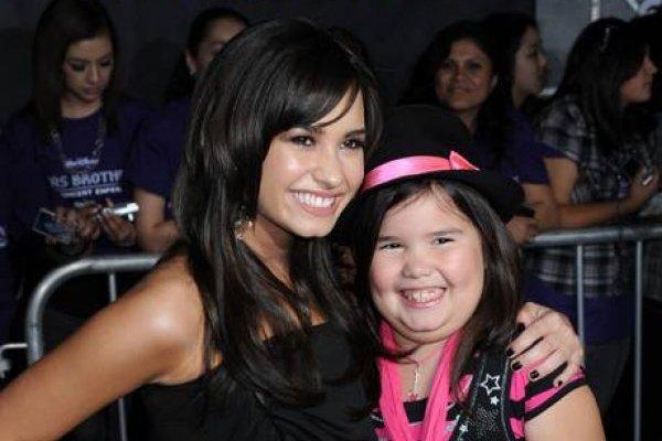 Demi Lovato y su hermana