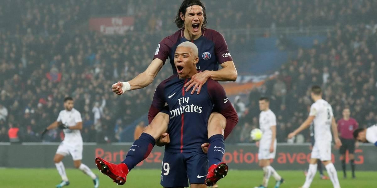Com golaço de Cavani, PSG bate o Caen e segue tranquilo na ponta do Francês