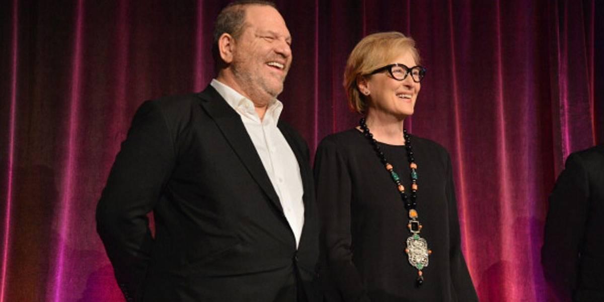Cartazes espalhados por Los Angeles acusam Meryl Streep de ser cúmplice de Harvey Weinstein