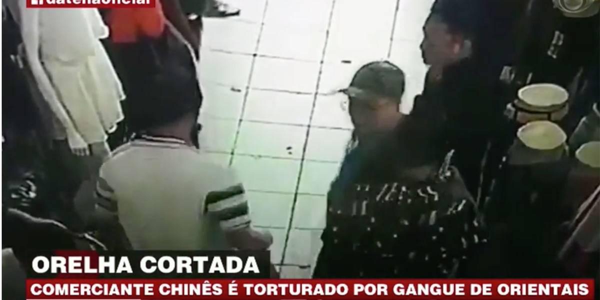 Comerciante chinês é torturado por gangue de orientais