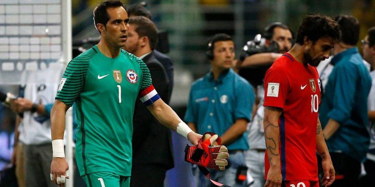 """Bravo exculpa a Pizzi de la eliminación del Mundial: """"Los responsables somos los jugadores"""""""