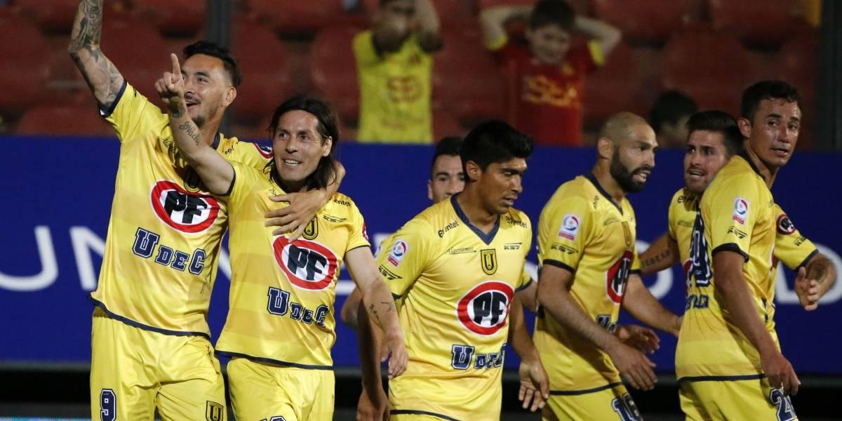 """En Universidad de Concepción ya quieren jugar con Vasco: """"Será un partido lindo"""""""