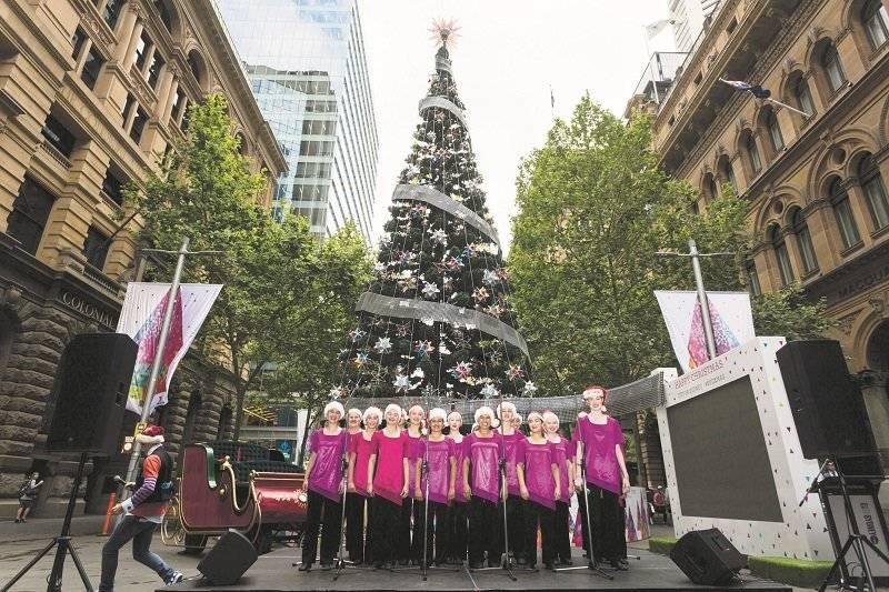 Árbol de Navidad en Sidney