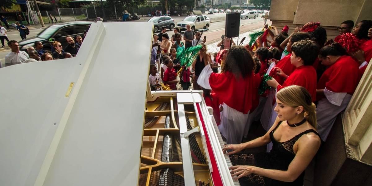 Pianista e coral infantil apresentam canções natalinas na Luz nesta 4ª e 5ª