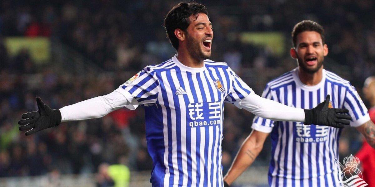 VIDEO: Los mejores goles de Carlos Vela con la Real Sociedad