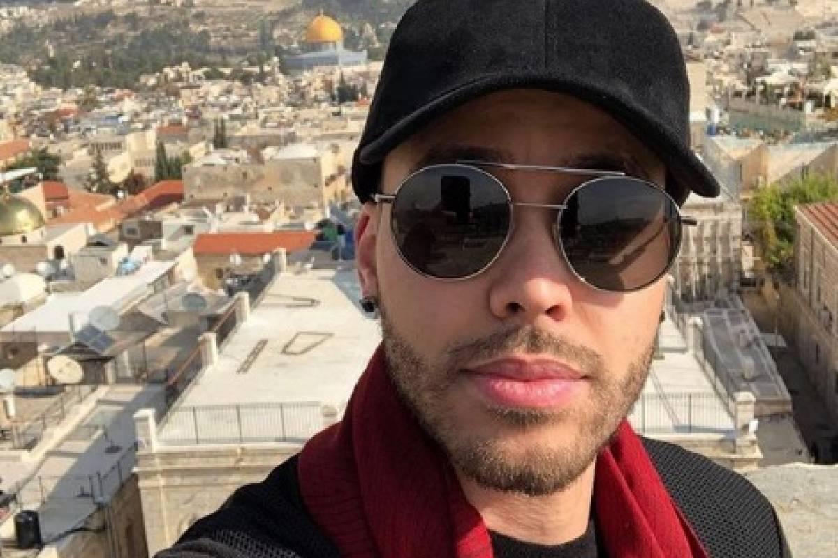 Prince Royce en Israel. Fotos vía Instagram