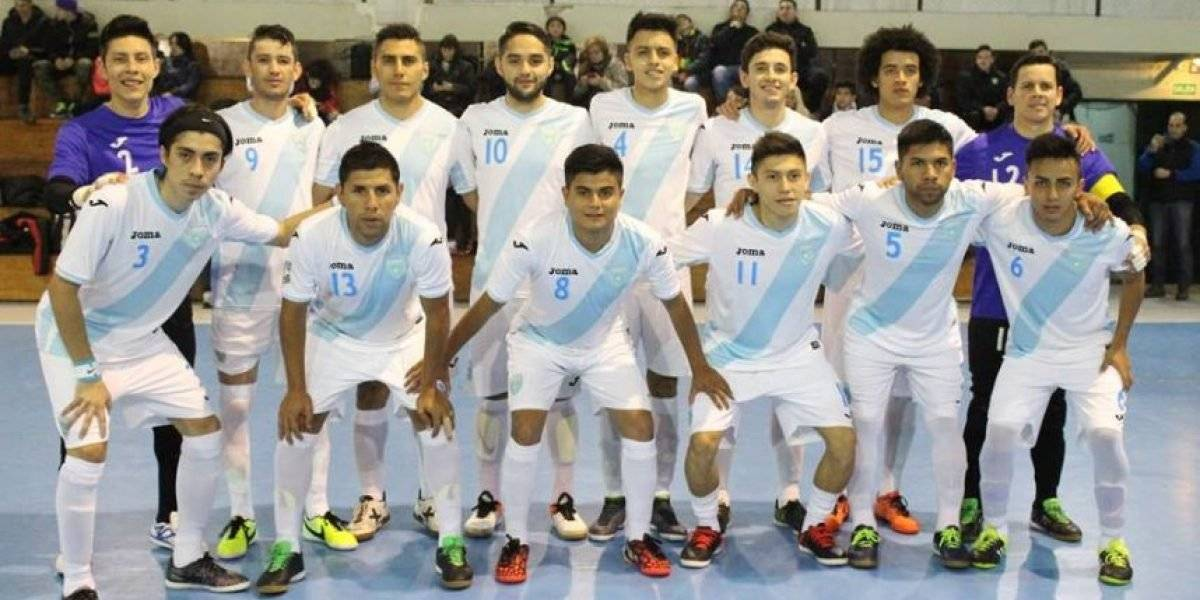 El futsal también se ve perjudicado a nivel internacional tras la suspensión de la Fedefut.