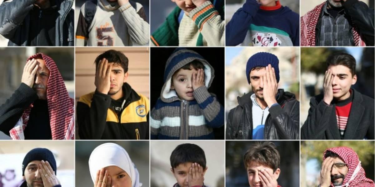 Un bebé tuerto: La nueva imagen símbolo de la resistencia a la guerra en Siria
