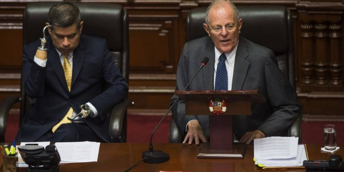 """""""No soy corrupto y no he mentido"""": PPK defiende su presidencia ante un Congreso opositor"""