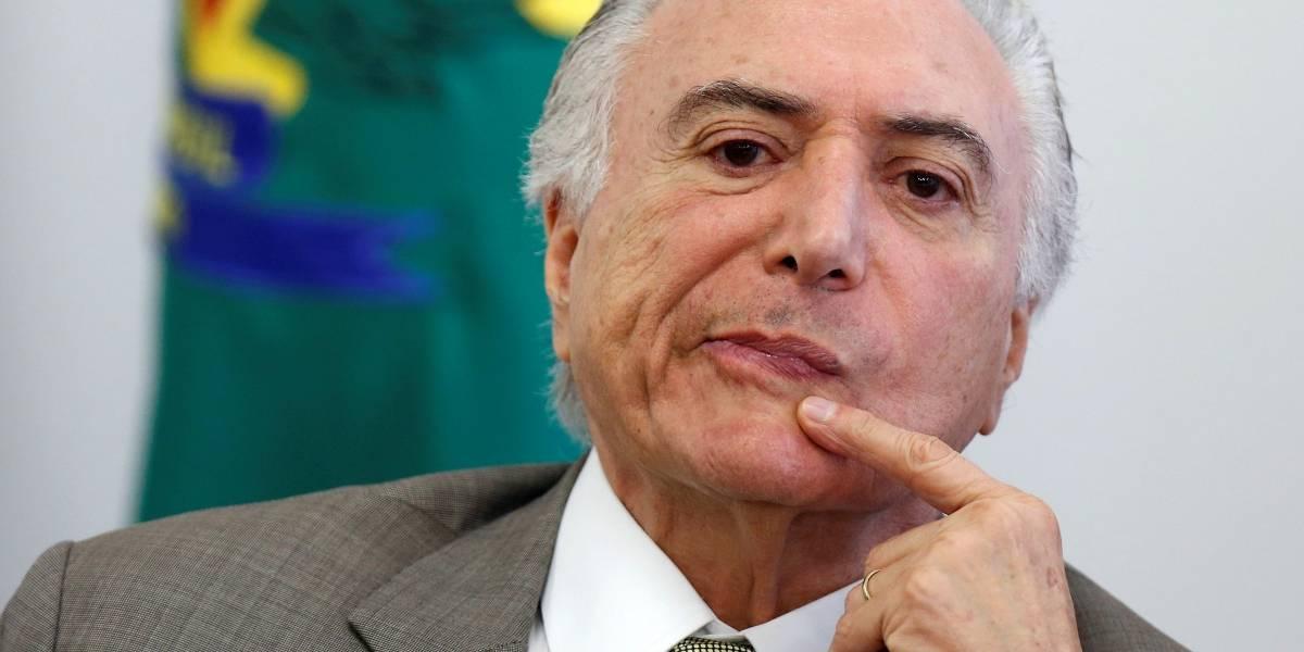 Temer passa o sábado em sua residência na capital paulista