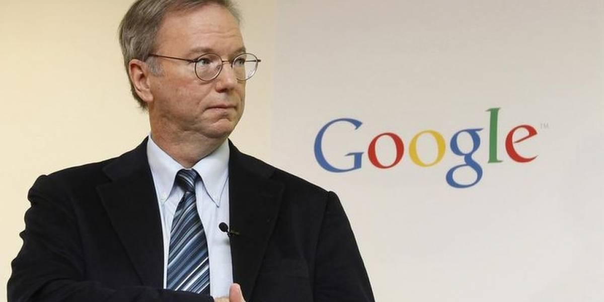 Eric Schmidt dejará de ser el presidente ejecutivo de Alphabet en enero