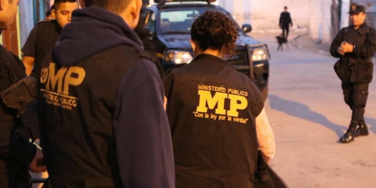 Ministerio Público y CICIG realizan operativo
