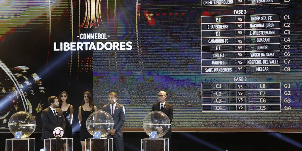 Quedaron definidos grupos muy parejos en la Copa Libertadores