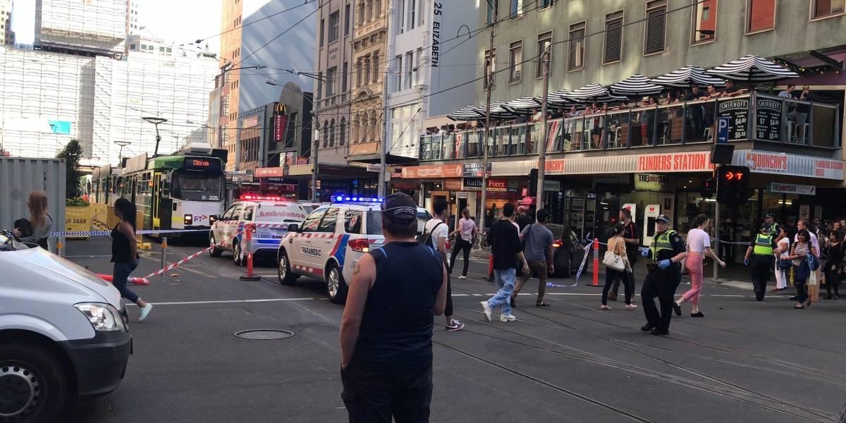 Dos detenidos tras atropello masivo en Australia; al menos 14 heridos