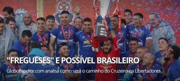 """""""Caseros"""", así trataron a la U en Brasil / imagen: Globoesporte"""