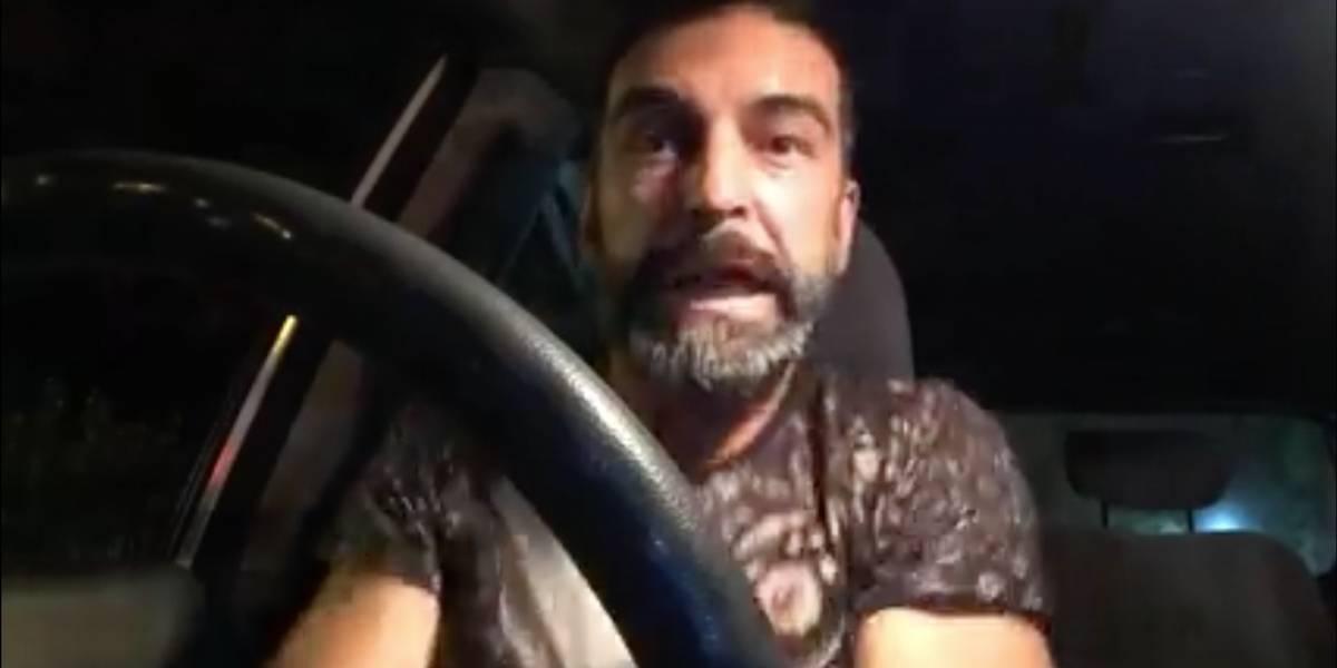 Jorge Alís habría sufrido accidente de tránsito mientras transmitía en vivo por Facebook