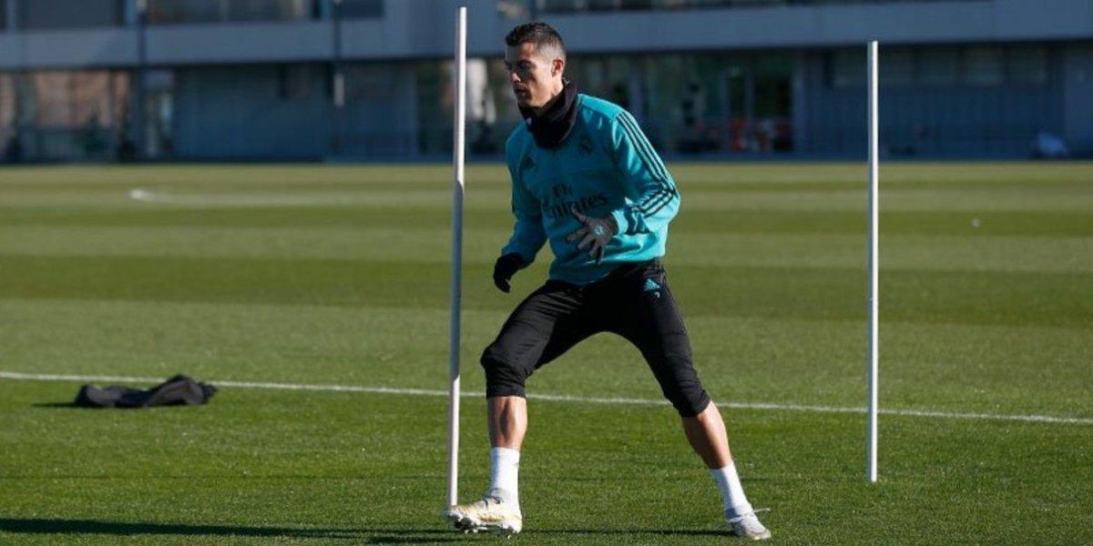 VIDEO. ¿Por qué Cristiano Ronaldo se entrena en solitario a dos días del Clásico?
