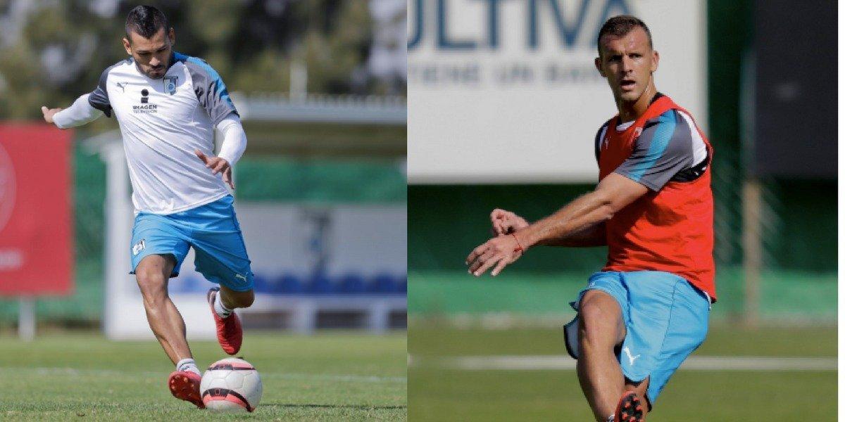 Novaretti y Samudio ya trabajan con Querétaro