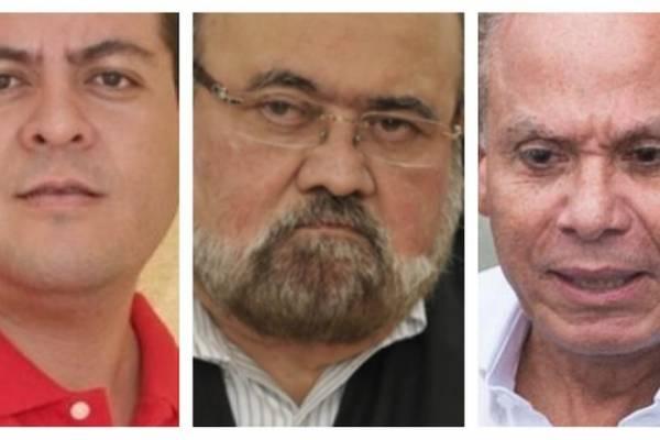 Julio Antonio Juárez Ramírez, Roberto José Rivas Reyes y Ángel Rondón