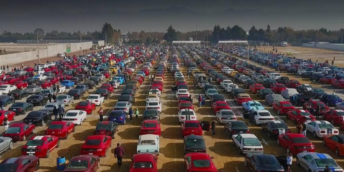 El Ford Mustang genera una estampida récord