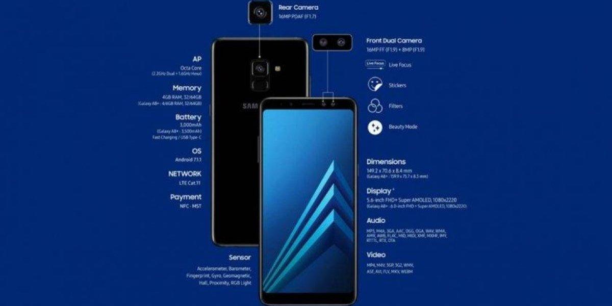 Galaxy expande su gama media con el nuevo A8