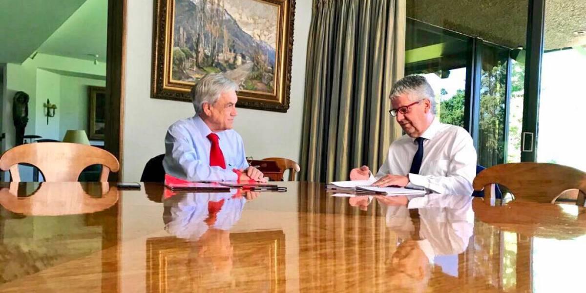 Autoridades del Banco Central y presidente del TC: Las reuniones preferentes del Presidente electo en su primera semana