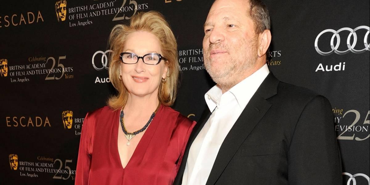 Acusan a Meryl Streep de encubrir abusos sexuales de Harvey Weinstein