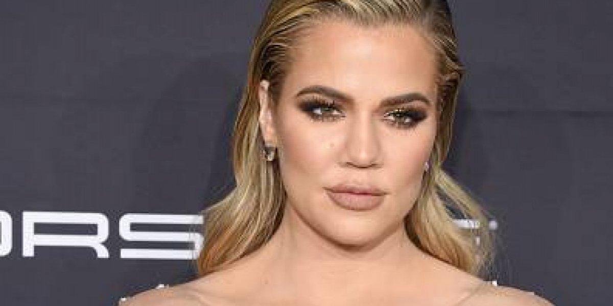 """Khloé Kardashian aseguró que """"estaba nerviosa"""" por anunciar su embarazo"""