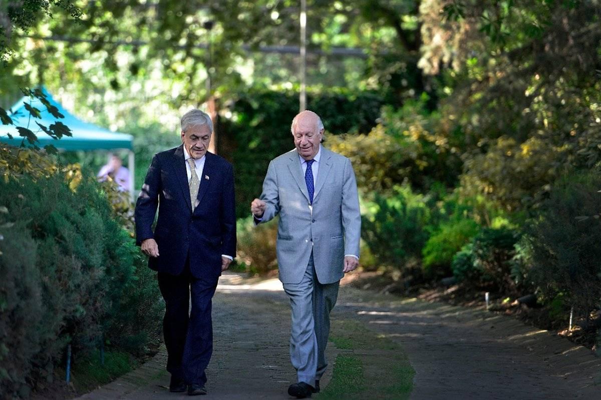 El Mandatario electo se reunió con el ex Presidente, Ricardo Lagos. Gentileza