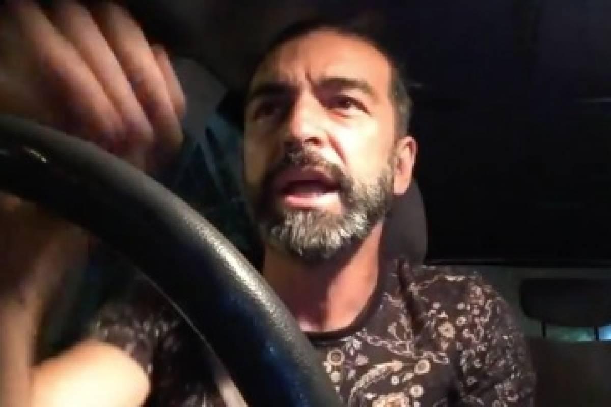 Preocupación por supuesto choque de Jorge Alís mientras transmitía por Facebook Live