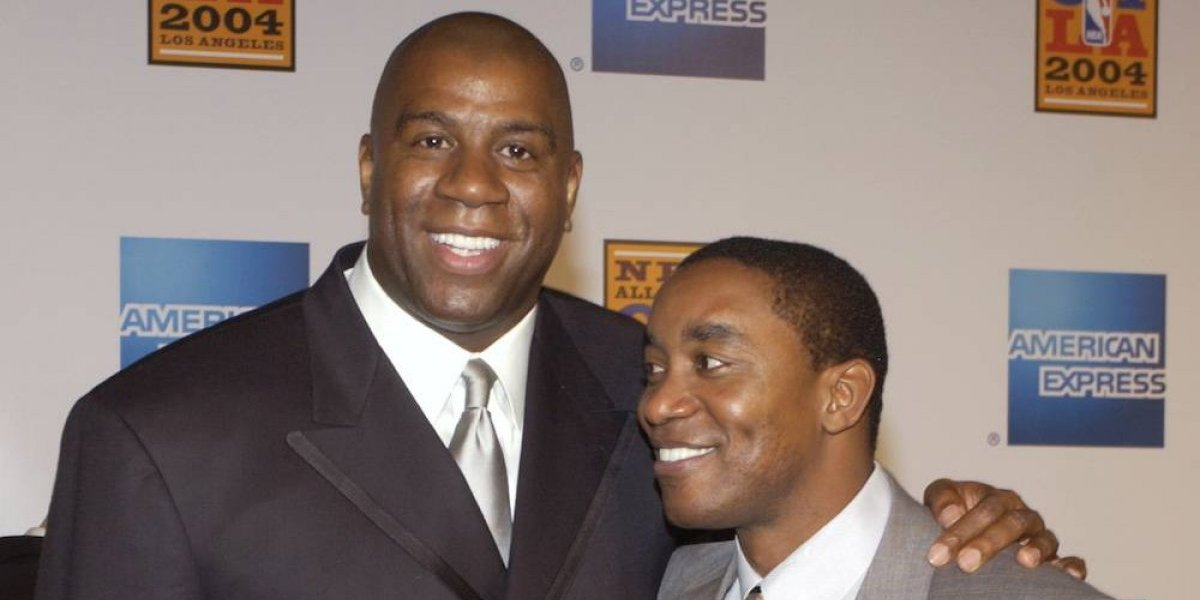 'Magic' Johnson e Isiah Thomas hacen las paces más de 20 años después