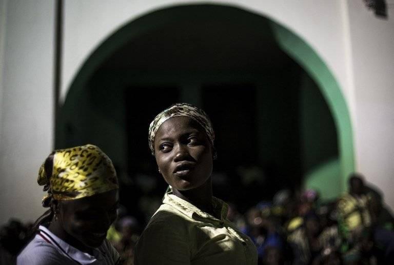 Mujeres en el Congo