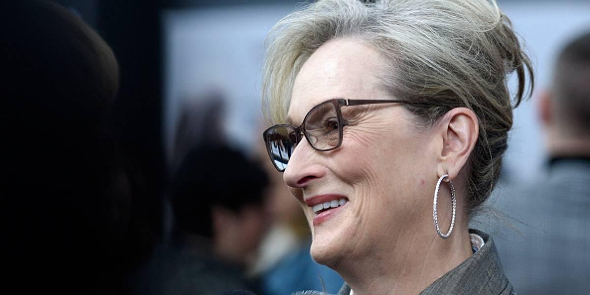 Meryl Streep es señalada de encubrir los abusos sexuales de Harvey Weinstein