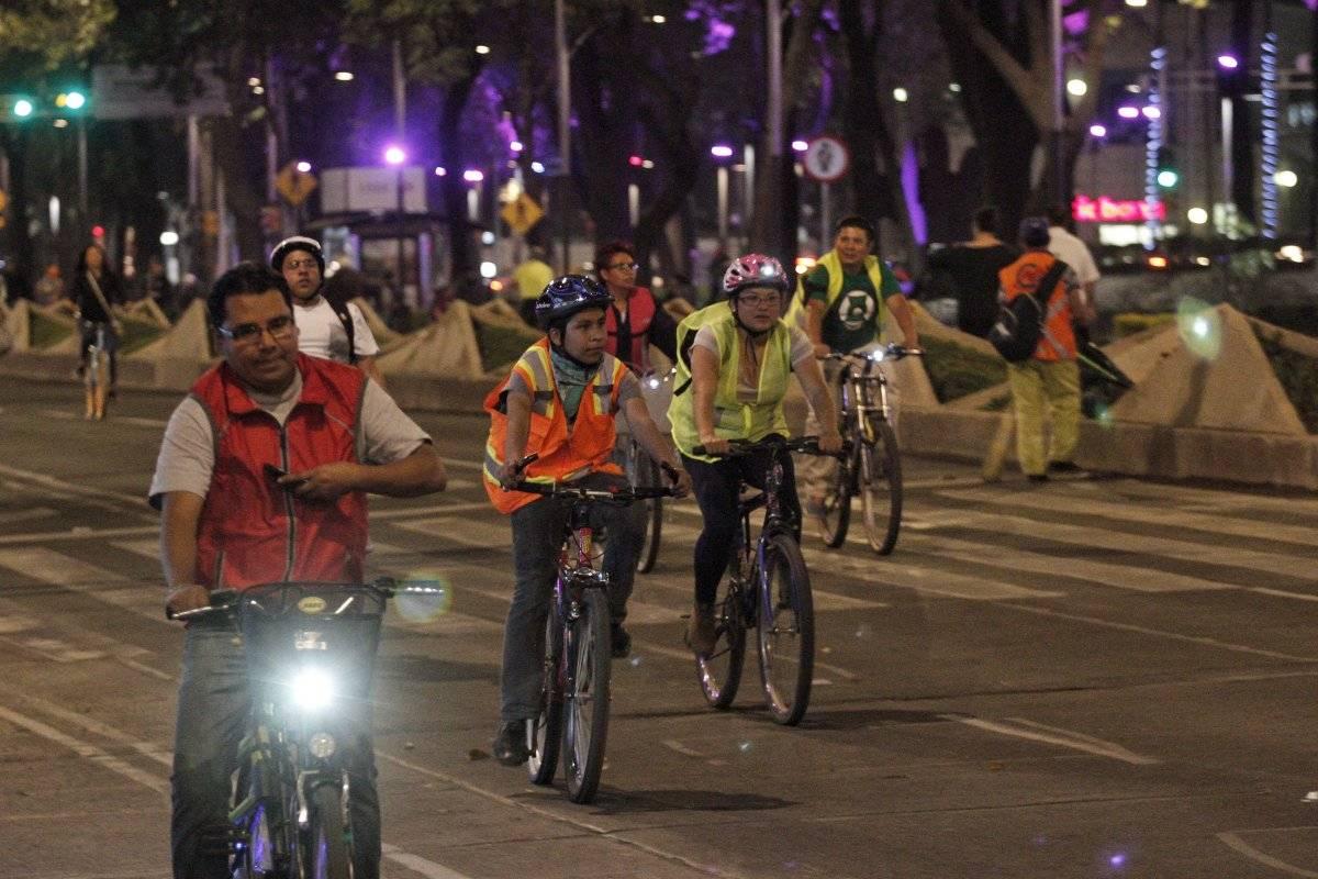Paseo ciclista