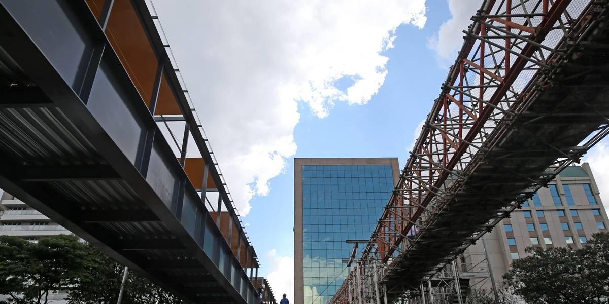 Nova passarela de Congonhas abre para o público