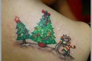 Tatuajes de Navidad