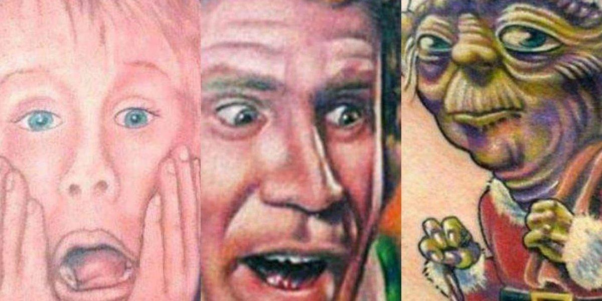 Los peores tatuajes de Navidad