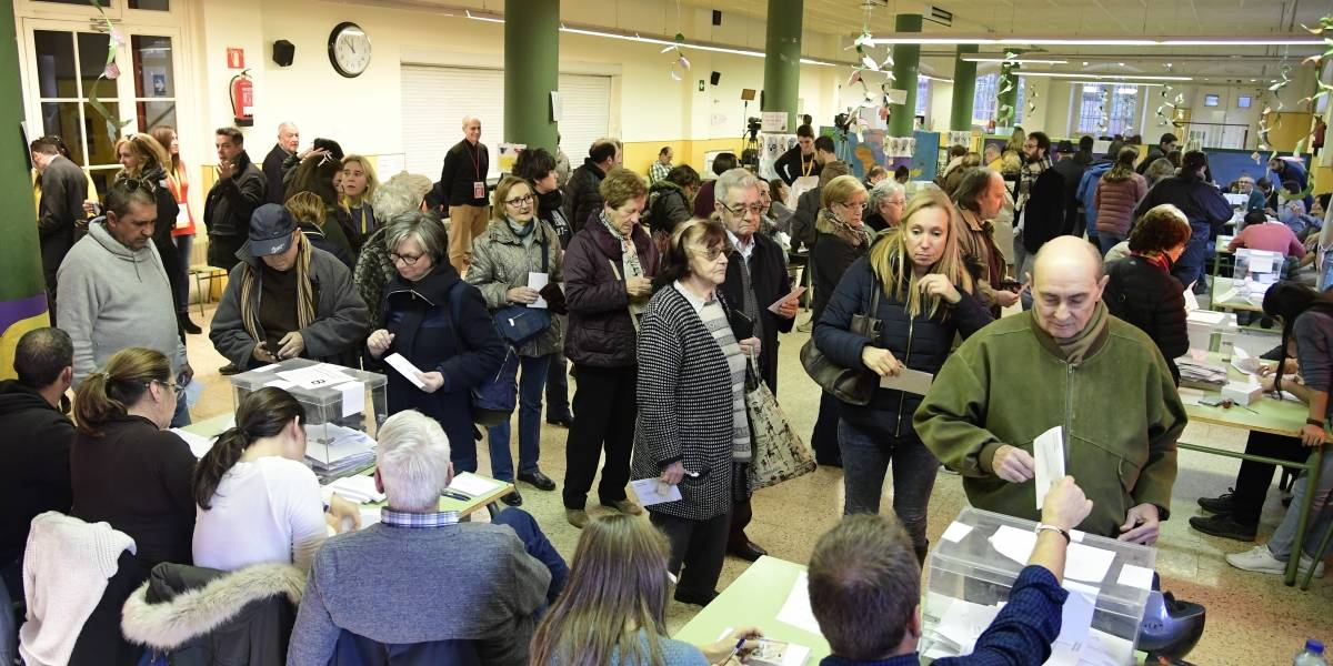 El independentismo catalán se impone con mayoría absoluta en el Congreso
