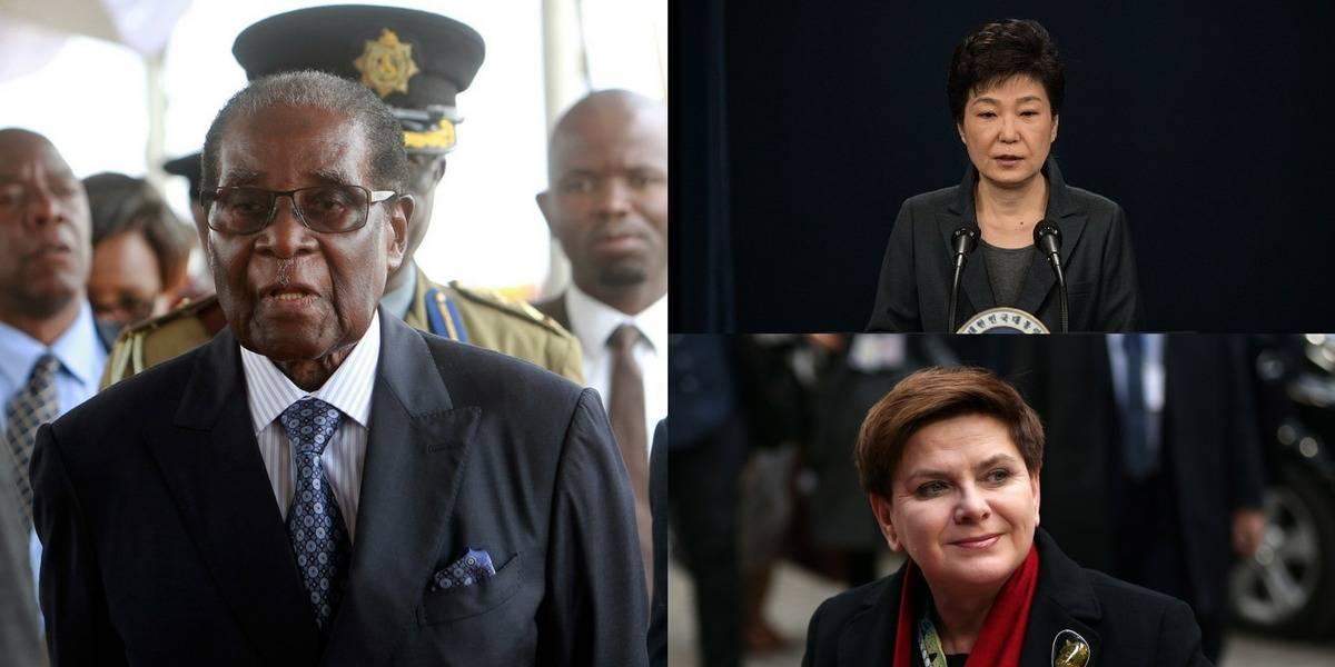 Los presidentes que no terminaron sus mandatos en 2017
