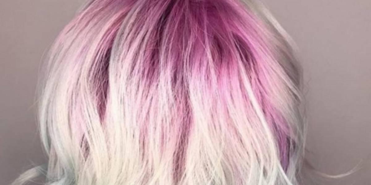 Raízes coloridas no cabelo são tendência no Instagram