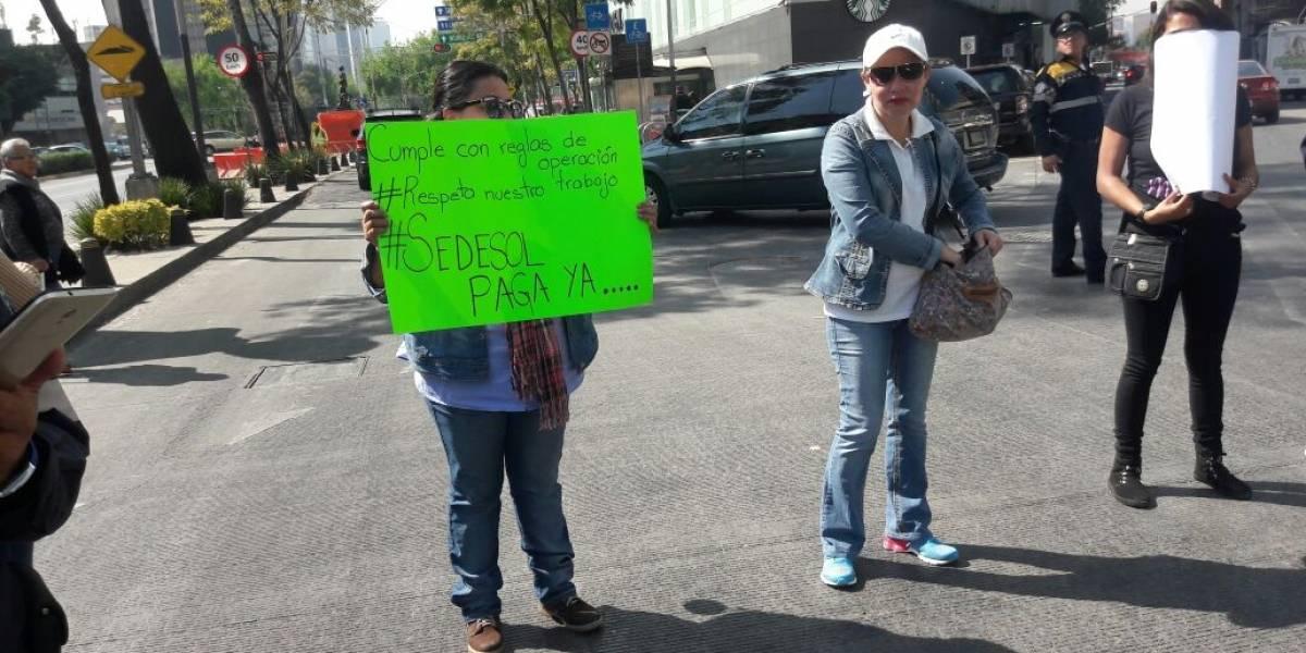 Sedesol congela pagos a trabajadores de estancias infantiles