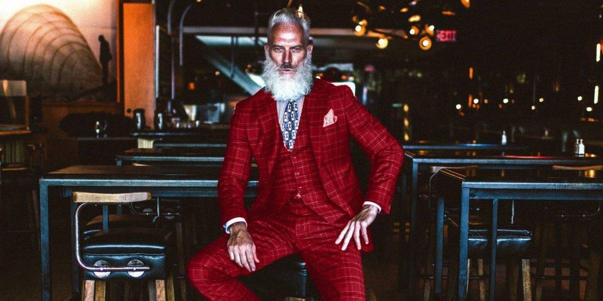 """Paul Mason: El """"Fashion Santa"""" que reinventó a Santa Claus"""