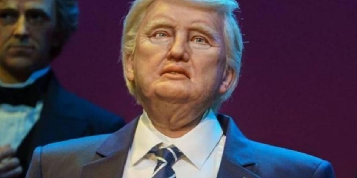 Museu Madame Tussauds tuita brincadeira com robô de Donald Trump