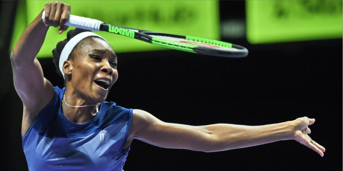 Dejan libre de cargos a Venus Williams tras accidente mortal