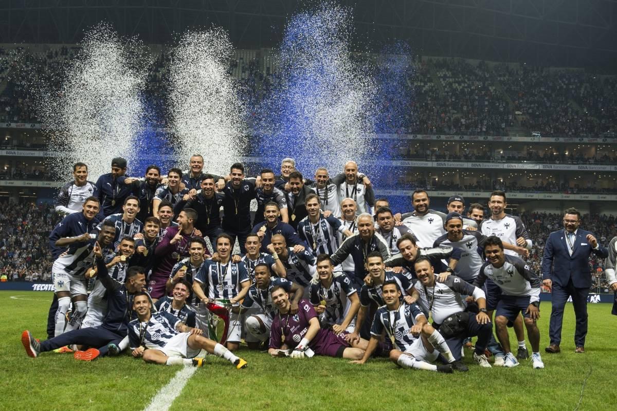 Segundda Copa en la historia de Rayados. /Mexsport