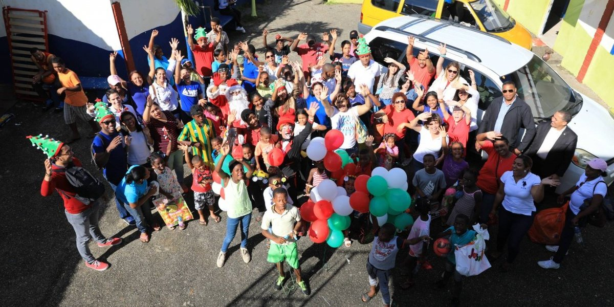 Competitividad llega al Hogar Esperanza de Boyá cargado de alegrías para niños y niñas