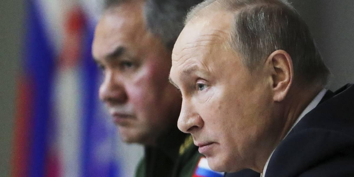 Rusia acusa a Estados Unidos de violentar pacto nuclear